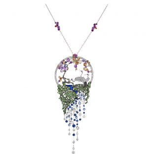 Dance Of The Pheasants Necklace