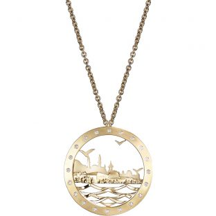 Istanbul Silhouette Necklace