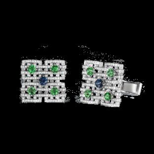 Palace Mosaics Cufflinks