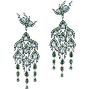 Elegant Feathers Earrings